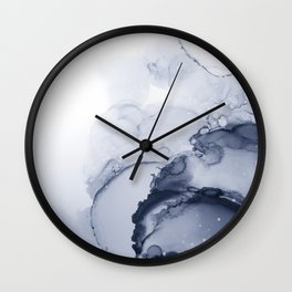 BLUE INK 88 Wall Clock