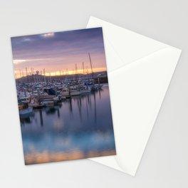 Nature's Hues Sunset at Half Moon Bay Stationery Cards
