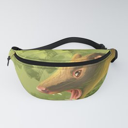 Tiger Quoll portrait Fanny Pack