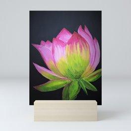 Lotus painting Mini Art Print
