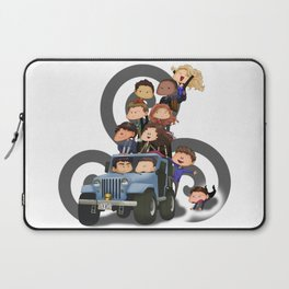Puppy Pile Laptop Sleeve