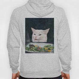 Woman Yelling at Cat Meme-4 Hoody