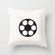 Football - Balls Serie Throw Pillow