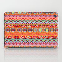 india iPad Cases featuring India Style Pattern (Multicolor) by Diego Tirigall