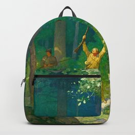 Huntsman by Newell Convers Wyeth Backpack