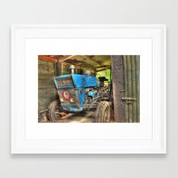 ford Framed Art Prints featuring Ford by Stiinno
