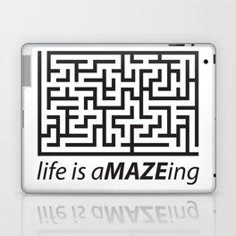 Life is aMAZEing Laptop & iPad Skin