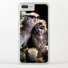 Avian Allies Clear iPhone Case