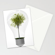 Eco Bulb 6 pack Stationery Cards