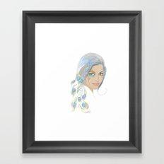 Peacock Rai Framed Art Print