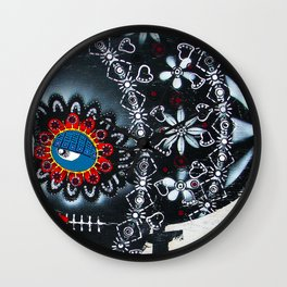 Pretty When You Smoke Wall Clock