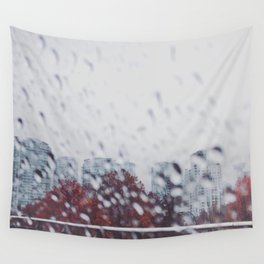 City Scape Wall Tapestry