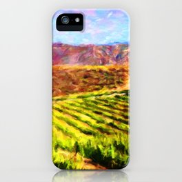 Vineyard View - Help Fund Education for Impoverished Kids in Malawi, Africa @MoreThanAid iPhone Case