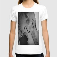 violin T-shirts featuring Violin by KimberosePhotography
