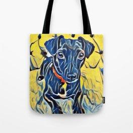 Pop Art Jack Russell Tote Bag