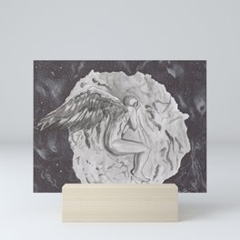 Inktober Day 11: Snow Mini Art Print