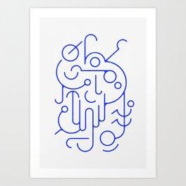 Lines 01 Art Print