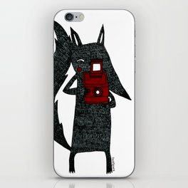 It's Wolf Play Day iPhone Skin