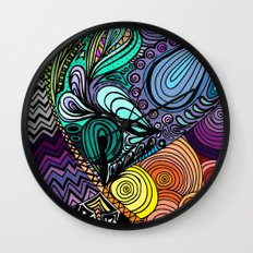 Extrovert Wall Clock