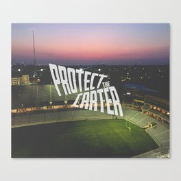 Protect the Carter Canvas Print