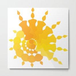 Sun star Metal Print