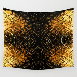 Antique Orange Pearl Sea Fan II by Chris Sparks Wall Tapestry