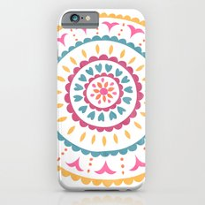 Suzani inspired floral 2 Slim Case iPhone 6s