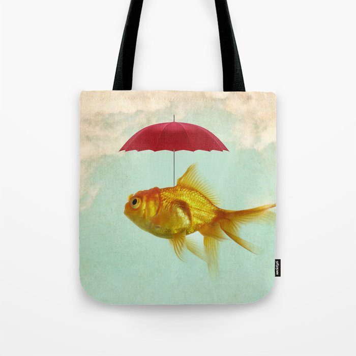 under cover goldfish 02 Tote Bag