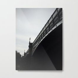 Under Bridges Metal Print