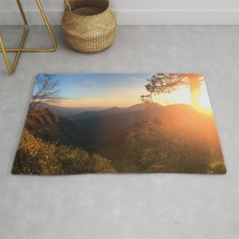 Kings Canyon Sunset Rug