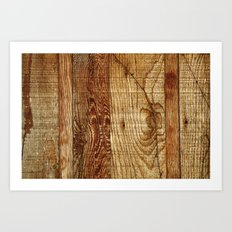Wood Photography Art Print