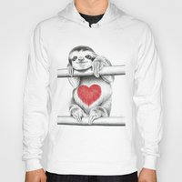 sloths Hoodies featuring If Care Bears were sloths... by 13 Styx