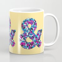 ampersand Mugs featuring Ampersand by Mister Phil