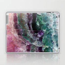 Pink & Green Watermelon Tourmaline Crystal Laptop & iPad Skin
