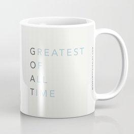 Businessman Goat - Greatest Of All Time Coffee Mug