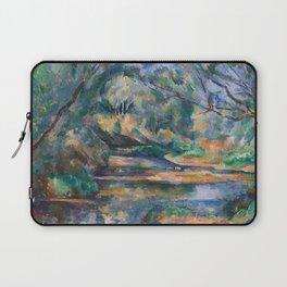 The Brook by Paul Cézanne Laptop Sleeve