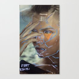 tres  l3ches Canvas Print