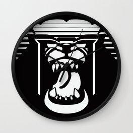 bearHead Logo Wall Clock
