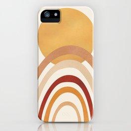 The Sun and a Rainbow II iPhone Case
