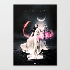 Athina Canvas Print