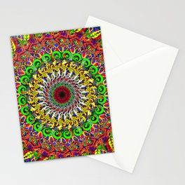 Koru Mandala Stationery Cards