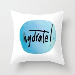Watercolour Self-Love Reminder Throw Pillow