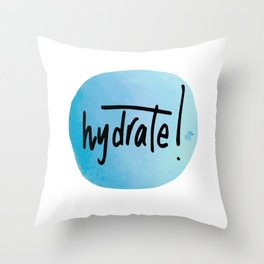 Watercolour Self-Love Reminder Throw Pillow