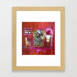 Once in a while... Framed Art Print