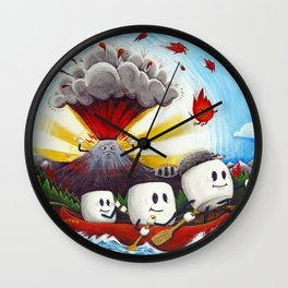 Escape from Mellowfire Island Wall Clock