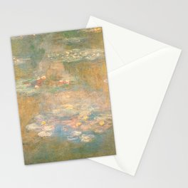 Water Lilies Claude Monet 1908 Stationery Cards