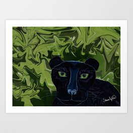 Do Panthers Fly? Art Print
