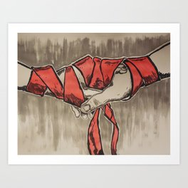 Handfasting Art Print