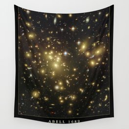 NASA Hubble Space Telescope Poster - Abell 1689 Wall Tapestry