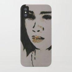 stephanie one Slim Case iPhone X